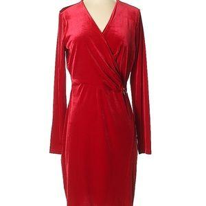 Beautiful Tahari velvet party dress size small